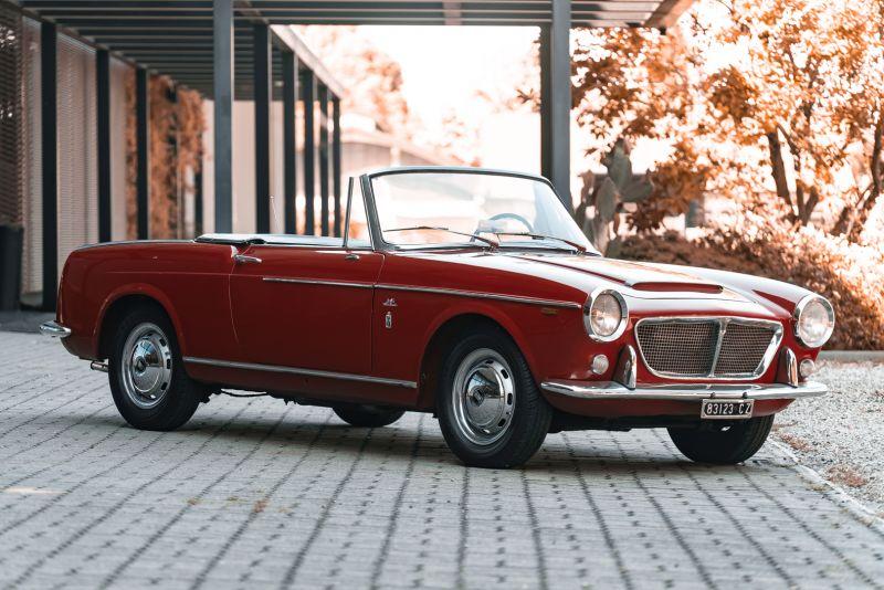 1962 Fiat 1200 Cabriolet Pininfarina 76315