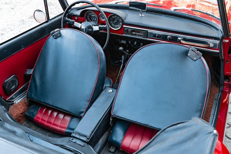1962 Fiat 1200 Cabriolet Pininfarina 76350