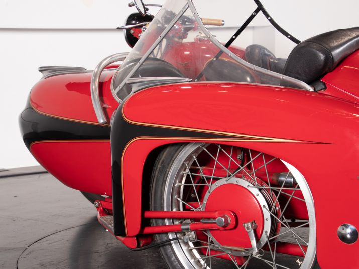 1956 Moto Guzzi 500 FS Sidecar 44965