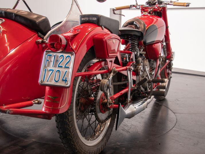 1956 Moto Guzzi 500 FS Sidecar 44967