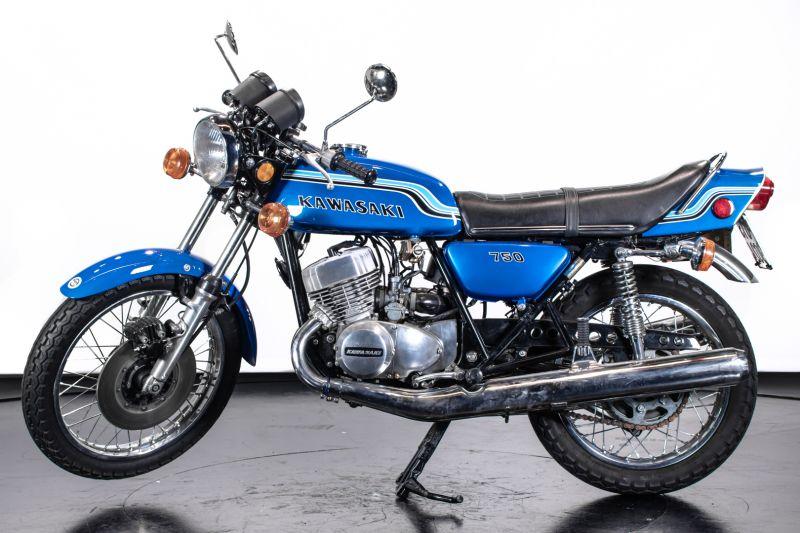 1972 Kawasaki H2 Mach 750 72204