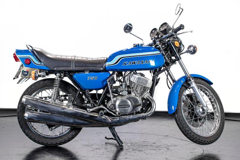 1972 Kawasaki H2 Mach 750 72206