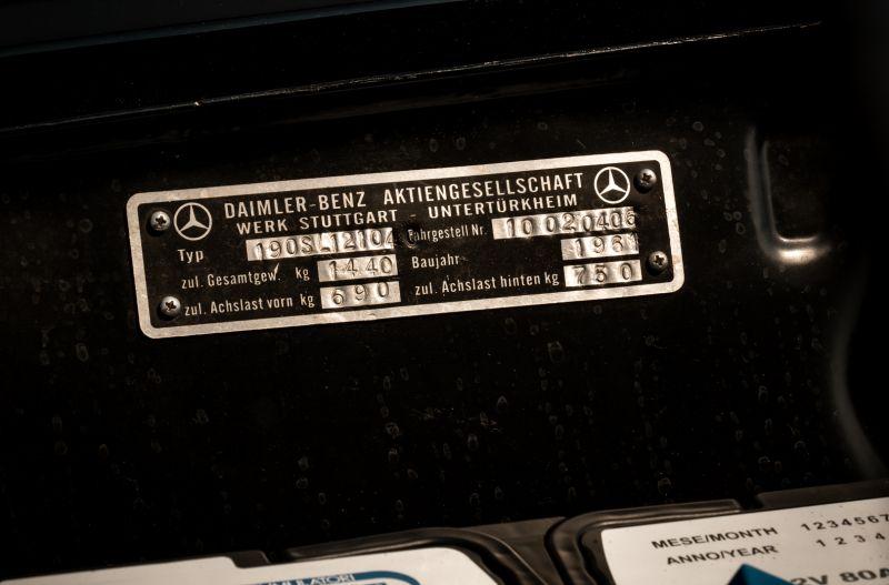 1961 Mercedes-Benz 190 SL 73884