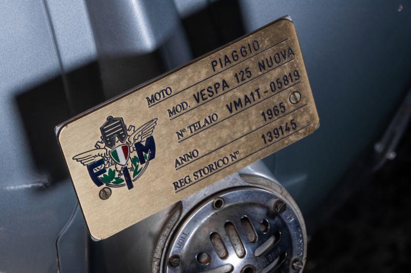 1965 Piaggio Vespa 125 VMA 78343