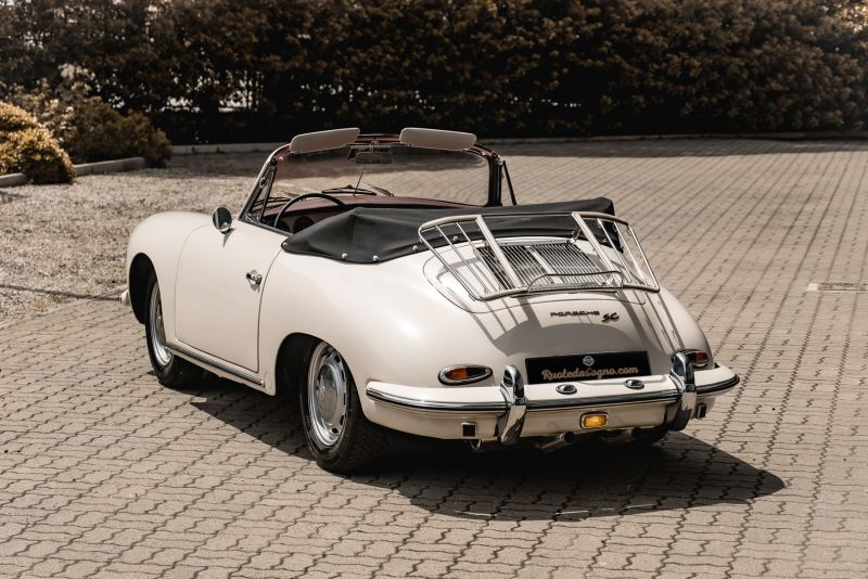 1964 PORSCHE 356 C Cabriolet 1600 SC 75428