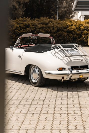 1964 PORSCHE 356 C Cabriolet 1600 SC 75425