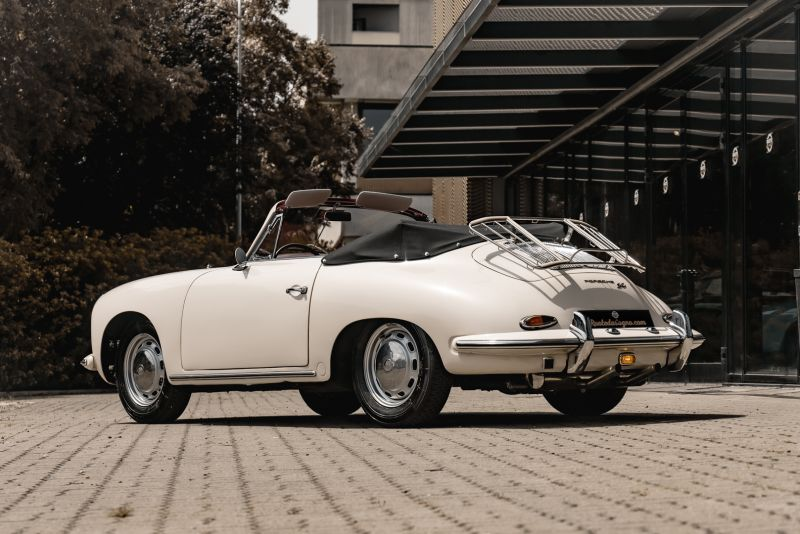 1964 PORSCHE 356 C Cabriolet 1600 SC 75426