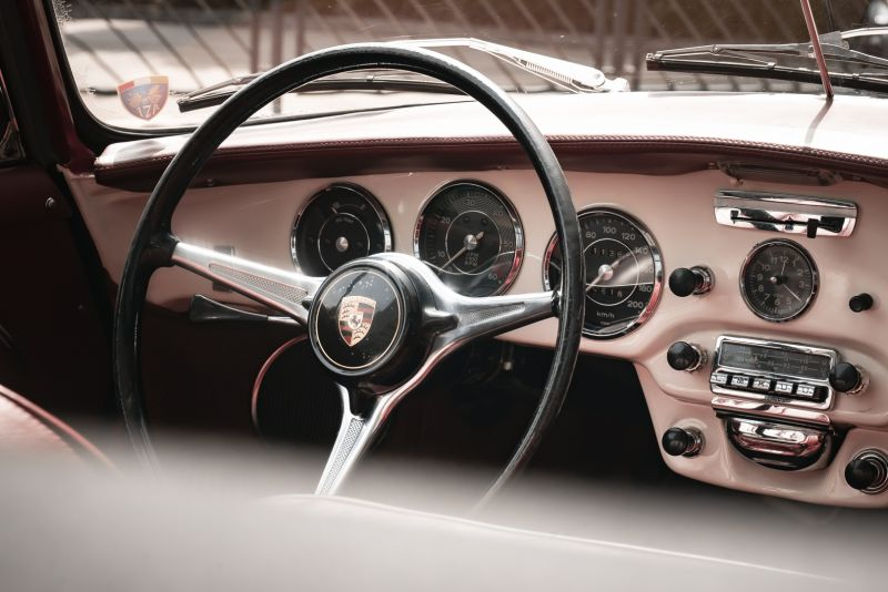 1964 PORSCHE 356 C Cabriolet 1600 SC 75460
