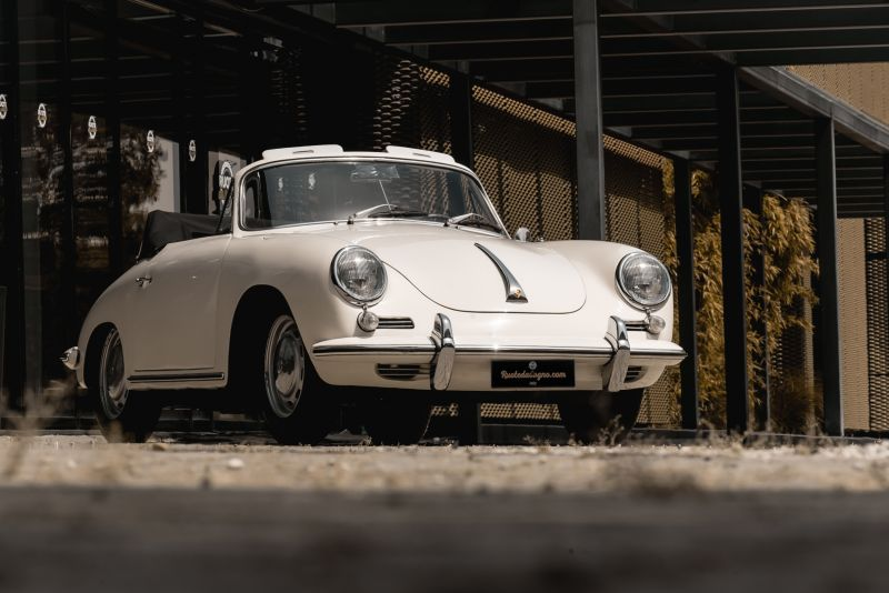 1964 PORSCHE 356 C Cabriolet 1600 SC 75435