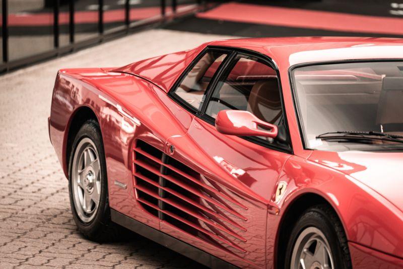 "1987 Ferrari Testarossa ""Monodado Bispecchio"" 76907"