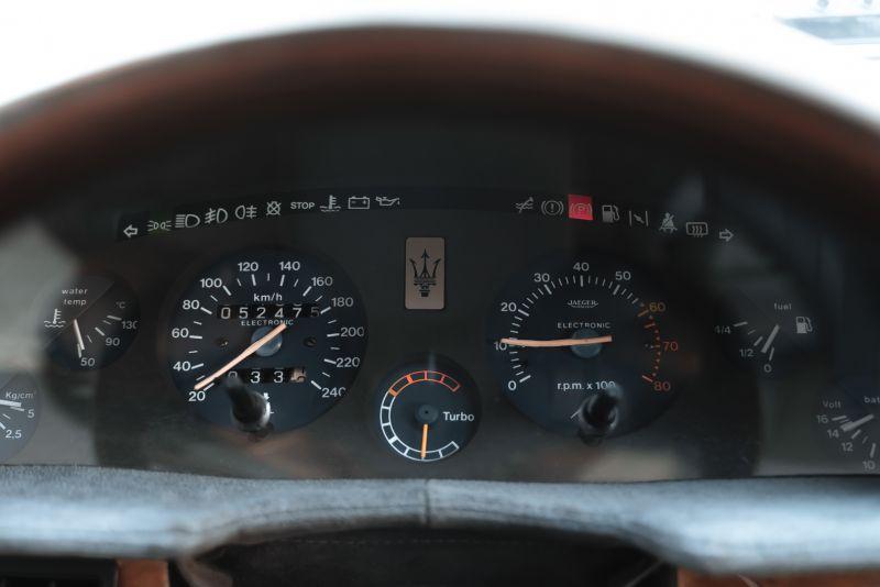 1989 MASERATI BITURBO 2.24V 82033