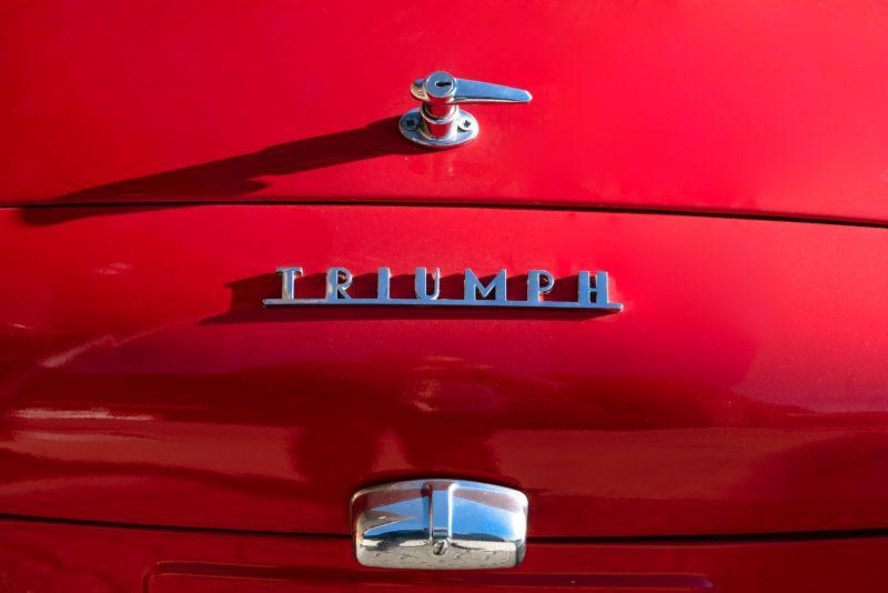"""1958 Triumph TR3A """"Bocca Stretta"""" 59706"""