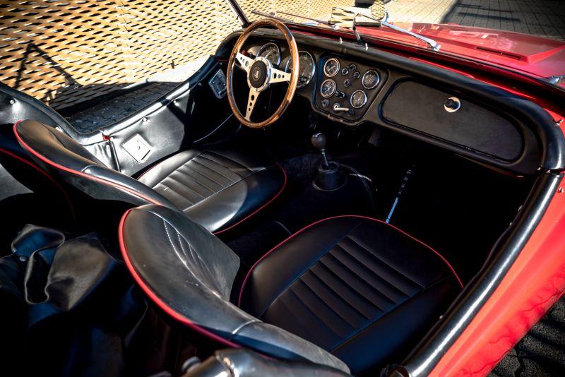 """1958 Triumph TR3A """"Bocca Stretta"""" 59683"""