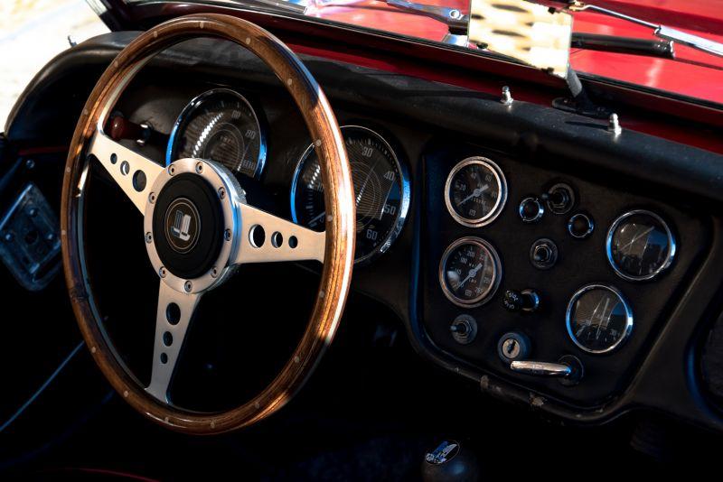 """1958 Triumph TR3A """"Bocca Stretta"""" 59684"""