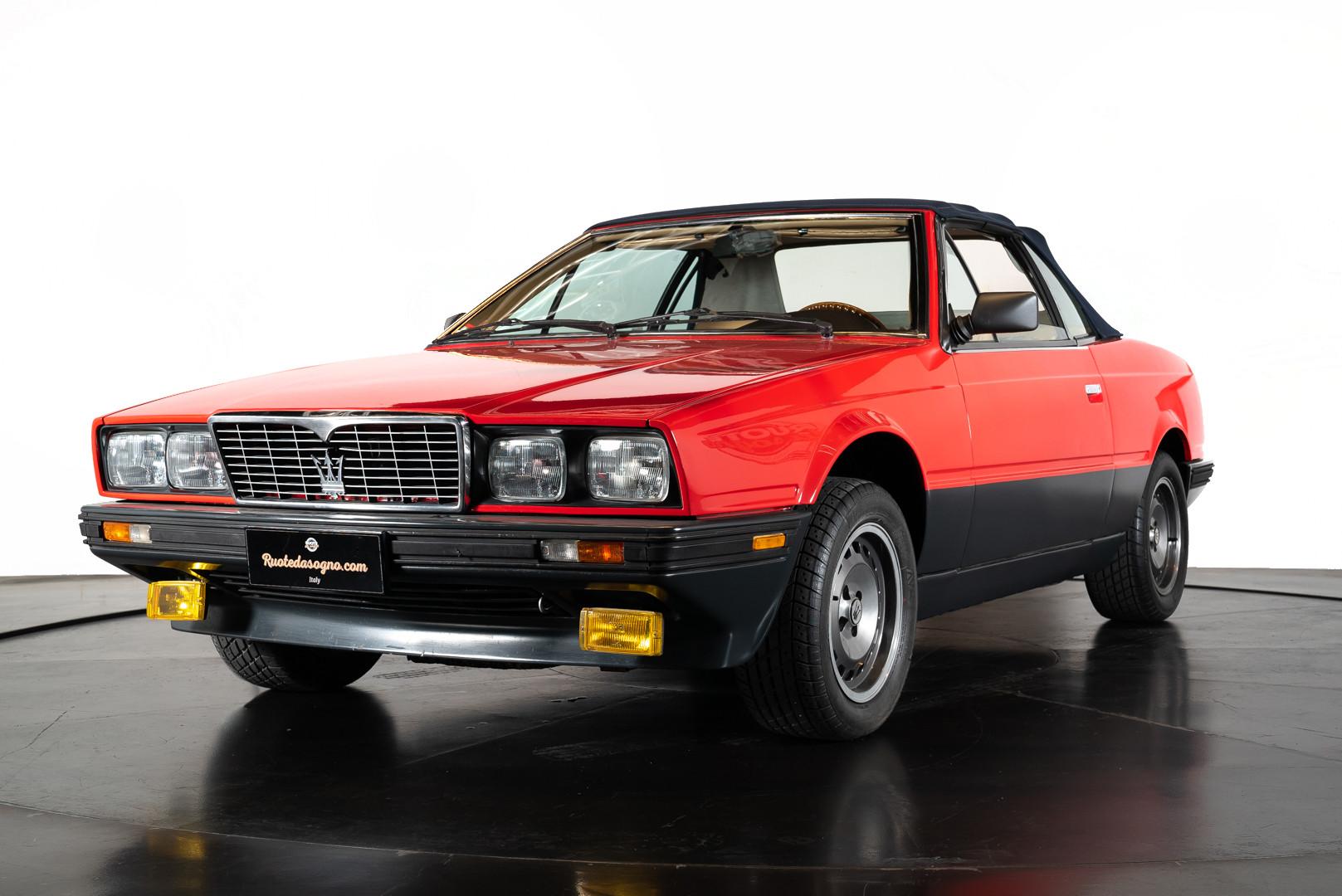 1985 Maserati Biturbo Spyder - Auto d'epoca - Ruote da Sogno