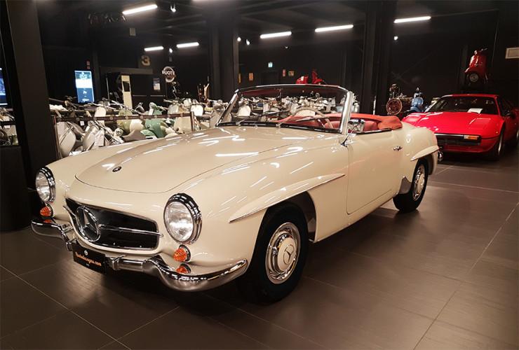1960 Mercedes-Benz 190 SL 1