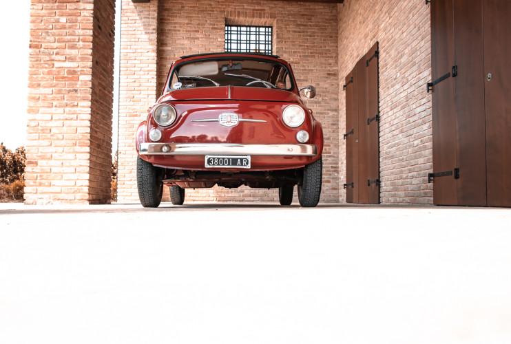 1963 Fiat 500 D 7