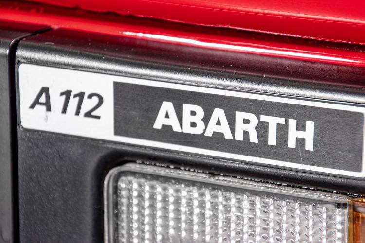 1981 Autobianchi A 112 Abarth 15