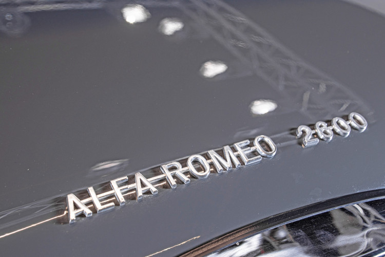 1966 ALFA ROMEO 2600 SPIDER TOURING 59