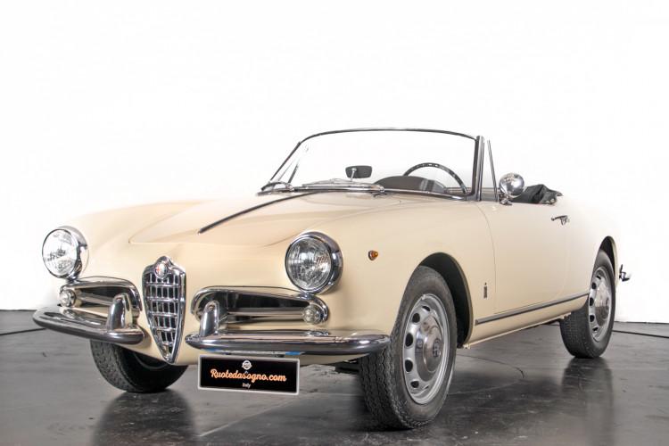 1959 Alfa Romeo Giulietta spider 0