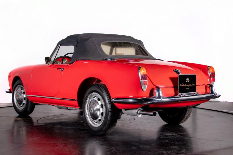 1962 Alfa Romeo Giulietta Spider 2
