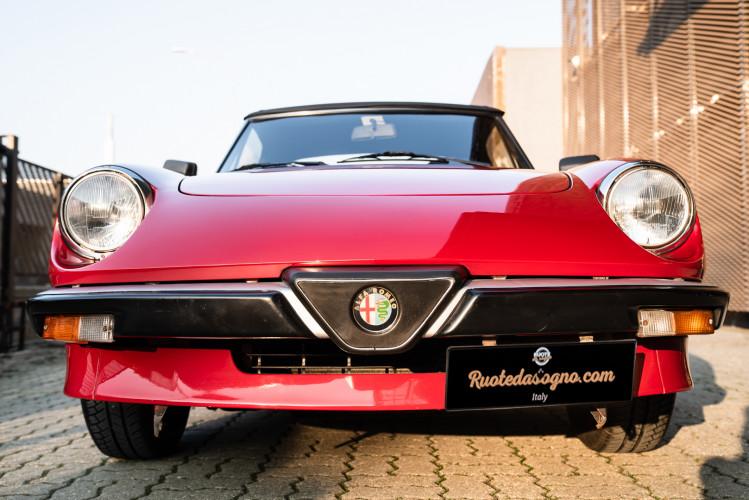 "1989 Alfa Romeo Spider Duetto 1.6 ""Aerodinamica"" 12"