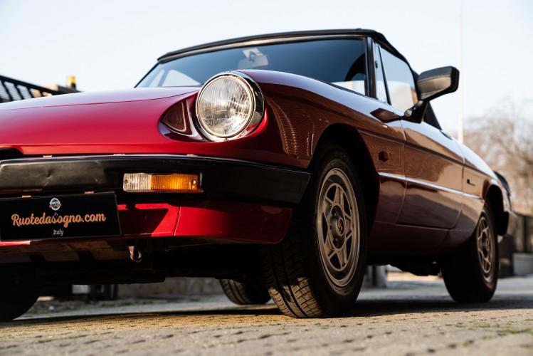 "1989 Alfa Romeo Spider Duetto 1.6 ""Aerodinamica"" 10"