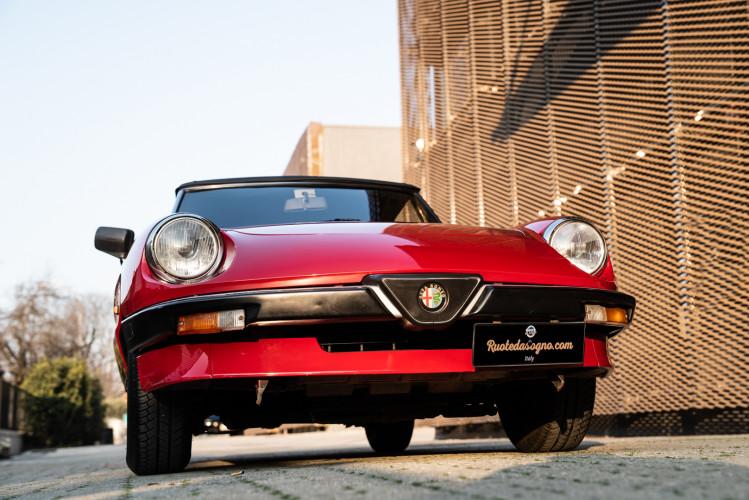 "1989 Alfa Romeo Spider Duetto 1.6 ""Aerodinamica"" 5"