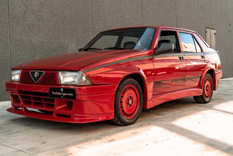 1987 Alfa Romeo 75 Turbo Evoluzione 0