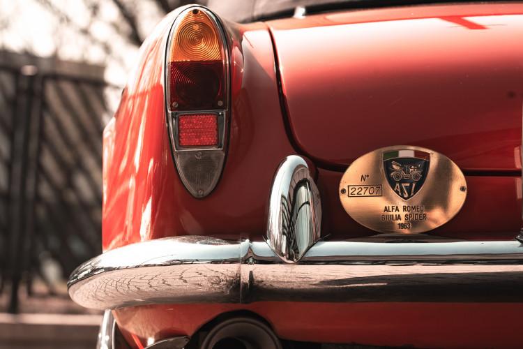 1963 Alfa Romeo Giulia Spider  22