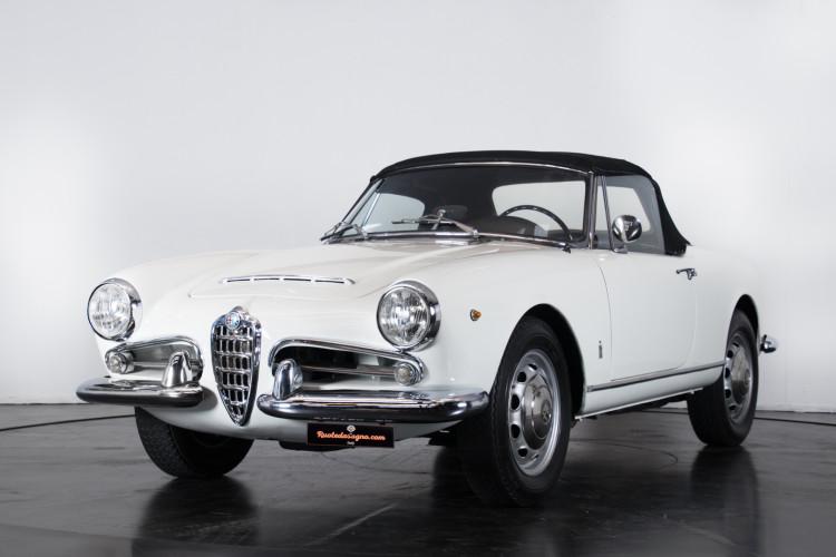 1962 Alfa Romeo Giulia spider 1600 0