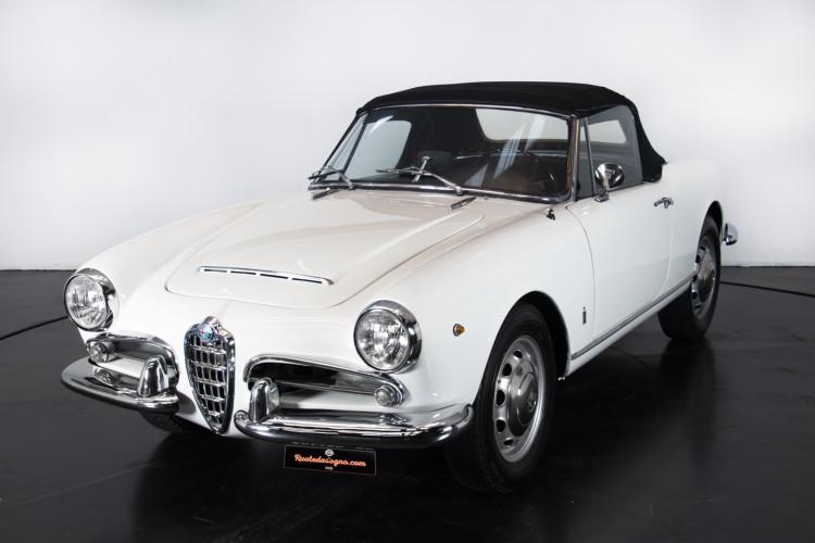 1962 Alfa Romeo Giulia spider 1600 14
