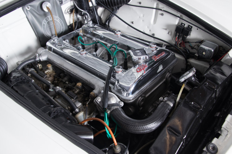 1962 Alfa Romeo Giulia spider 1600 33