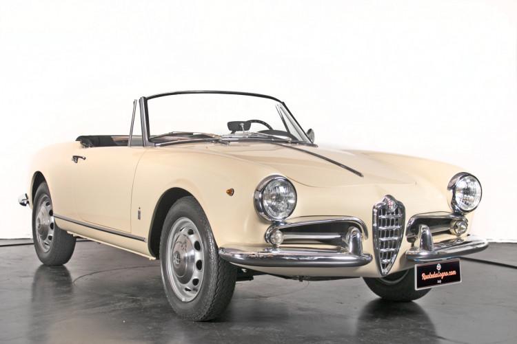1959 Alfa Romeo Giulietta spider 2