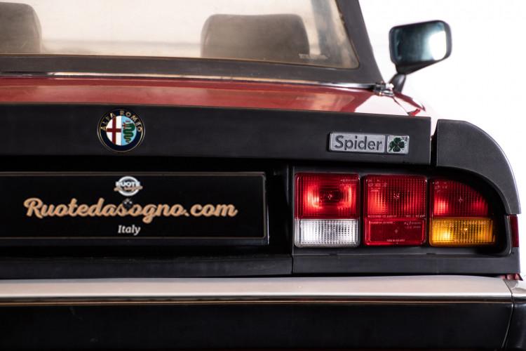 1987 ALFA ROMEO SPIDER DUETTO 3° SERIE QV 8
