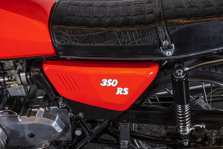 1980 Benelli 350 RS 7