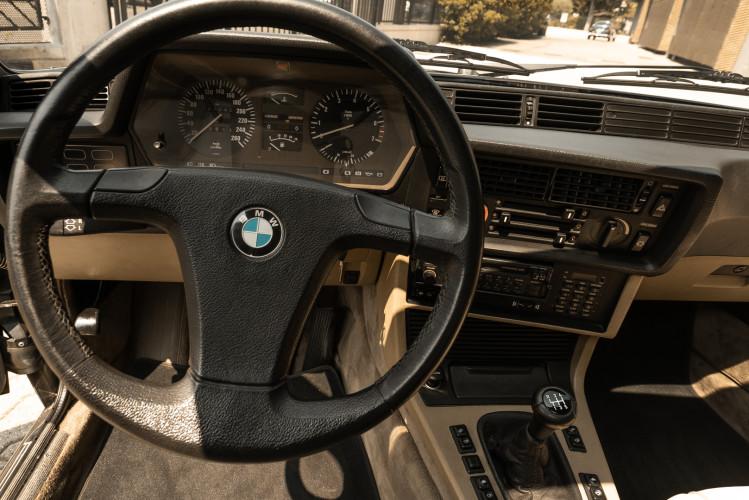 1984 BMW 635 CSI 16