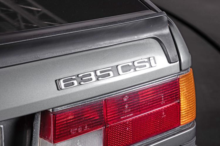1984 BMW 635 CSI 10