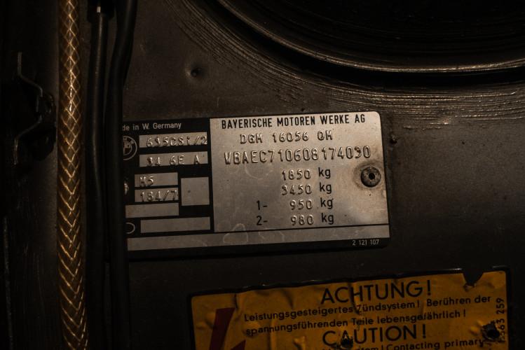 1984 BMW 635 CSI 29