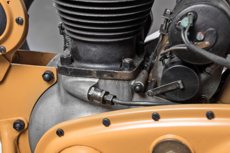 1947 BSA 500 WM 20 20