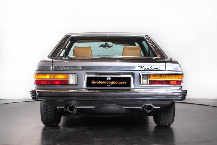 1980 Maserati Kyalami 4.9 3