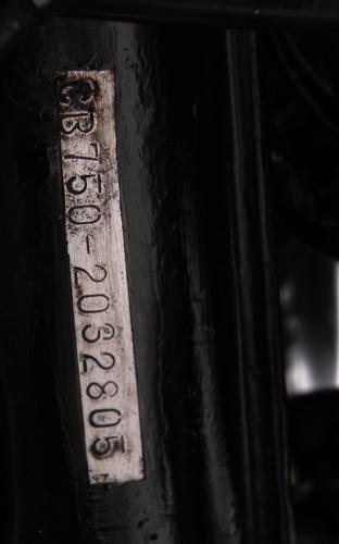 1972 HONDA CB 750 FOUR 19