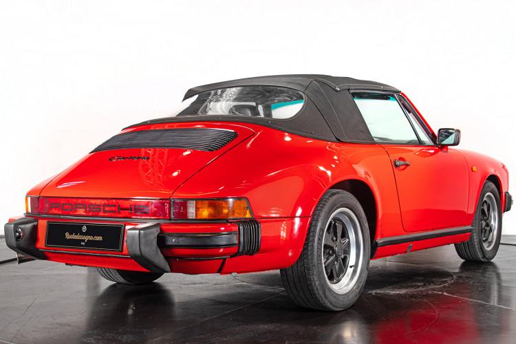 1986 Porsche 911 3.2 Cabrio 12