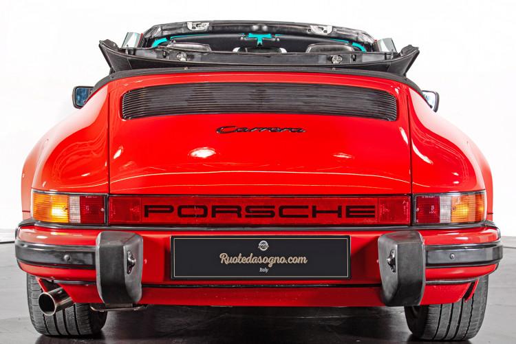 1986 Porsche 911 3.2 Cabrio 5