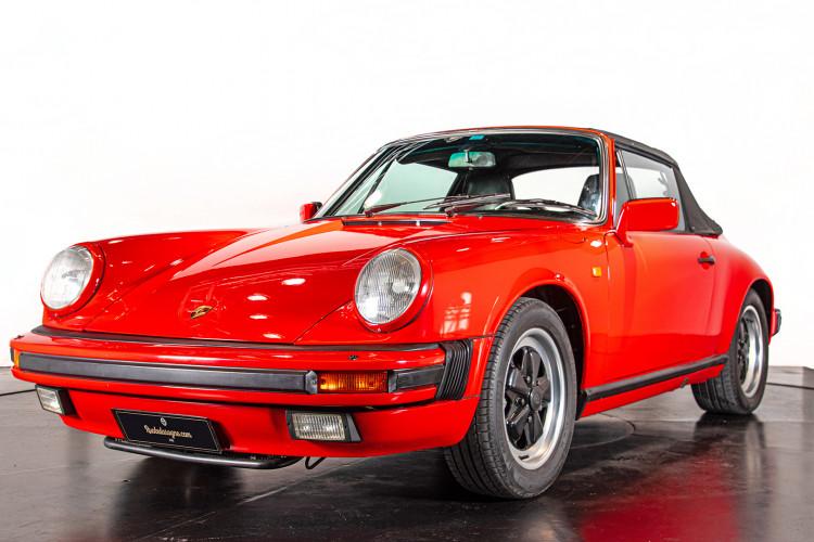 1986 Porsche 911 3.2 Cabrio 8
