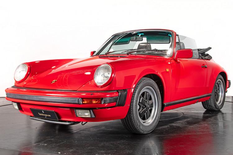 1986 Porsche 911 3.2 Cabrio 0