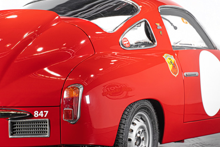 """1960 Fiat Abarth 750/850 Bialbero Record Monza """"Competizione""""  13"""