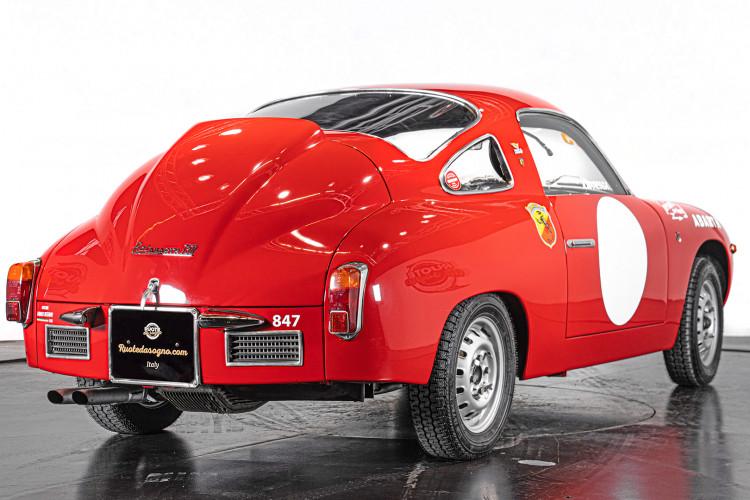 """1960 Fiat Abarth 750/850 Bialbero Record Monza """"Competizione""""  4"""