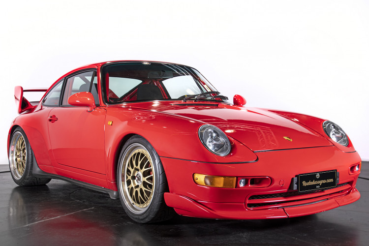 1995 PORSCHE 993 CARRERA RS CLUBSPORT 2
