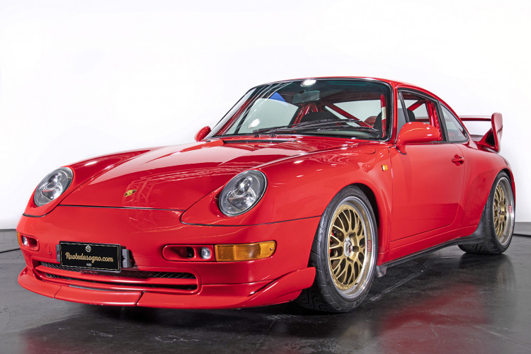 1995 PORSCHE 993 CARRERA RS CLUBSPORT 3